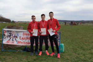 LG Eder-Athleten bei hessischen Crosslauf-Meisterschaften