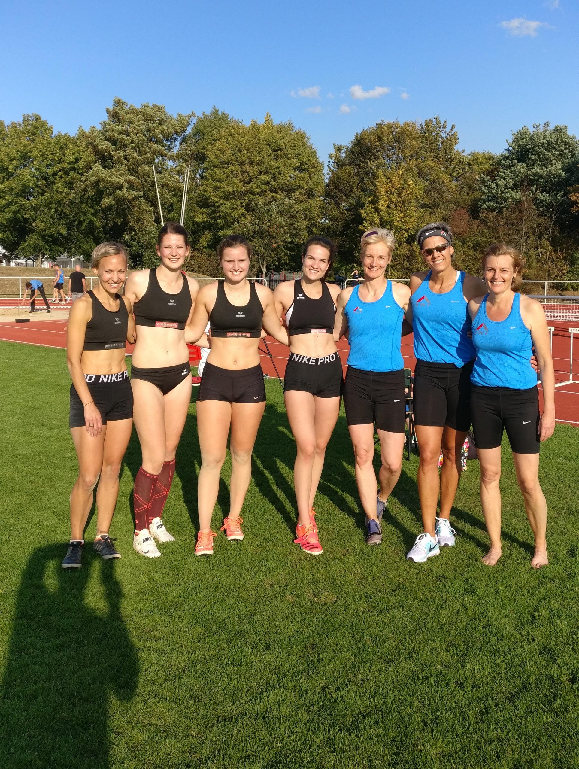 Frauen der LG-Eder und des TSV Korbach mit tollen Ergebnissen im Sprint und Weitsprung © Olaf Richter